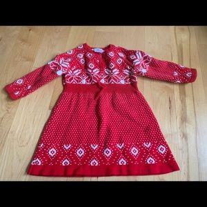 Hanna andersson winter dress